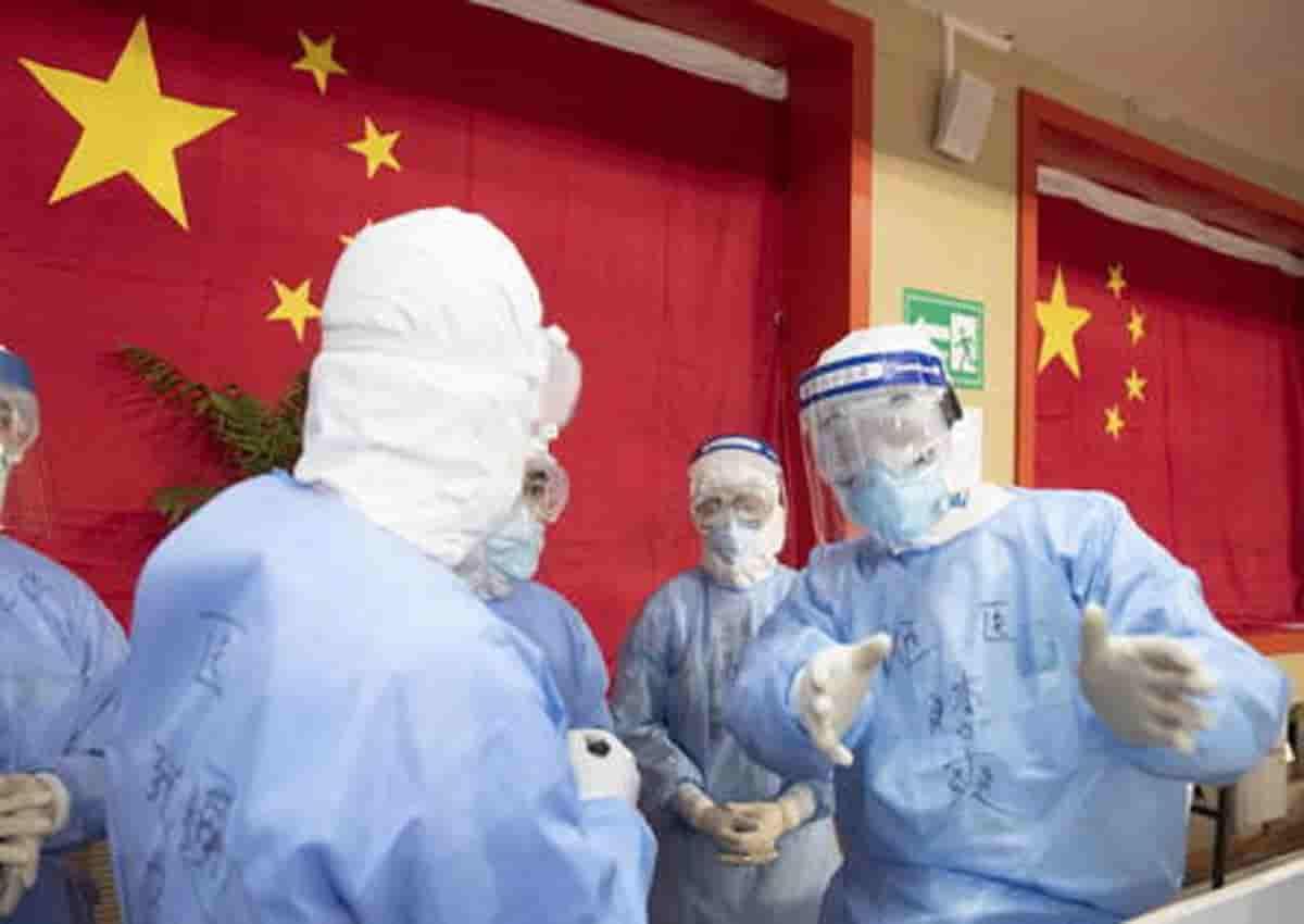 Coronavirus in Cina, foto d'archivio Ansa