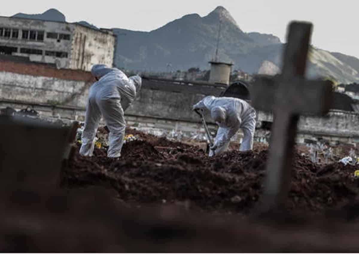 Coronavirus, sepolture in America latina