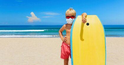 """Coronavirus e mare, le linee guida dell'Iss: """"No balli in spiaggia e distanza anche in acqua"""""""