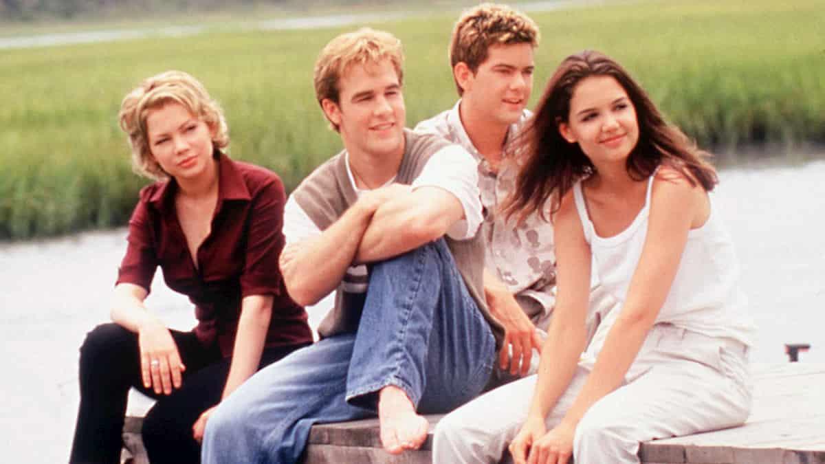 James Van Der Beek e gli altri protagonisti di Dawson's Creek