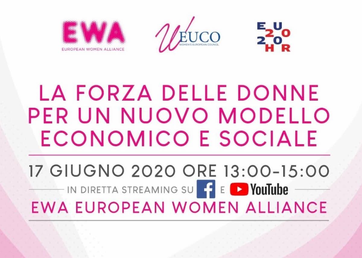 Dare un senso e lasciare un segno: la forza delle donne per la ricostruzione europea