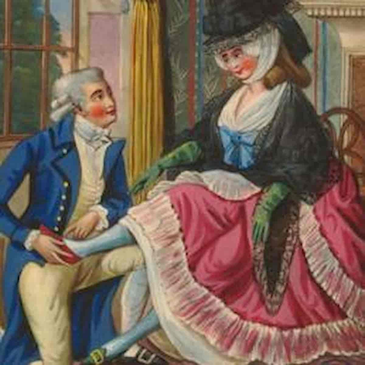 Regno Unito, gli uomini dell'epoca georgiana erano attratti da donne di mezza età