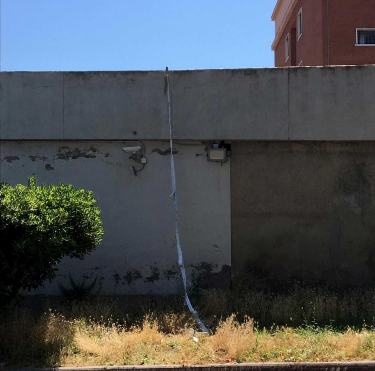 Evasione dal carcere di Rebibbia (Roma): due rom in fuga dopo aver scavalcato il muro di cinta 01
