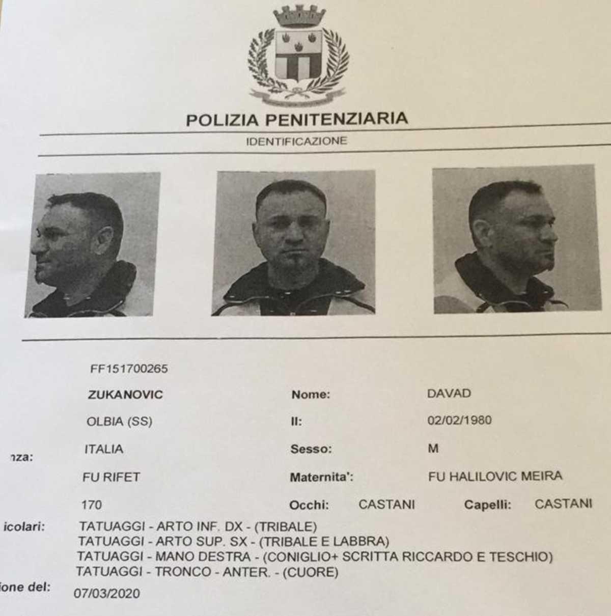 Evasione dal carcere di Rebibbia (Roma): due rom in fuga dopo aver scavalcato il muro di cinta 03