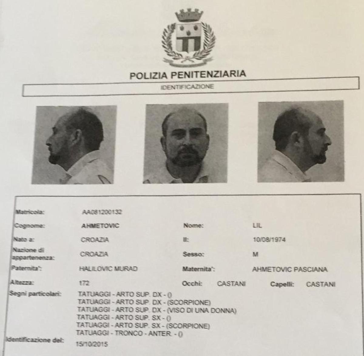 Evasione dal carcere di Rebibbia (Roma): due rom in fuga dopo aver scavalcato il muro di cinta 04