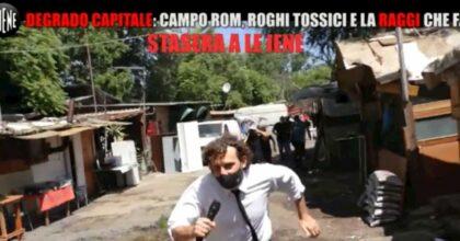 Filippo Roma aggredito in un campo rom a Roma: sassi e badilate contro l'inviato de Le Iene