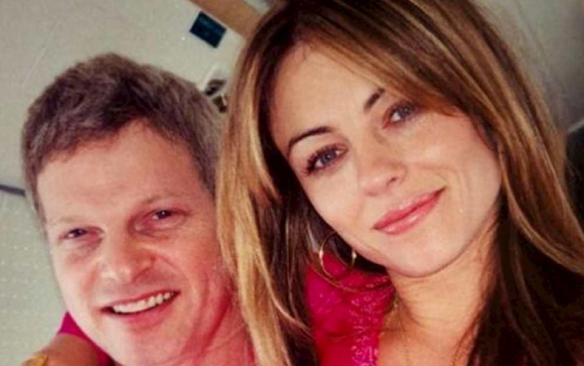 Steve Bing e Liz Hurley