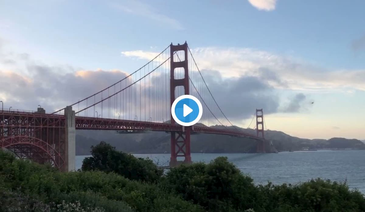 Golden Gate Bridge, uno strano e inquietante ronzio sul ponte di San Francisco VIDEO