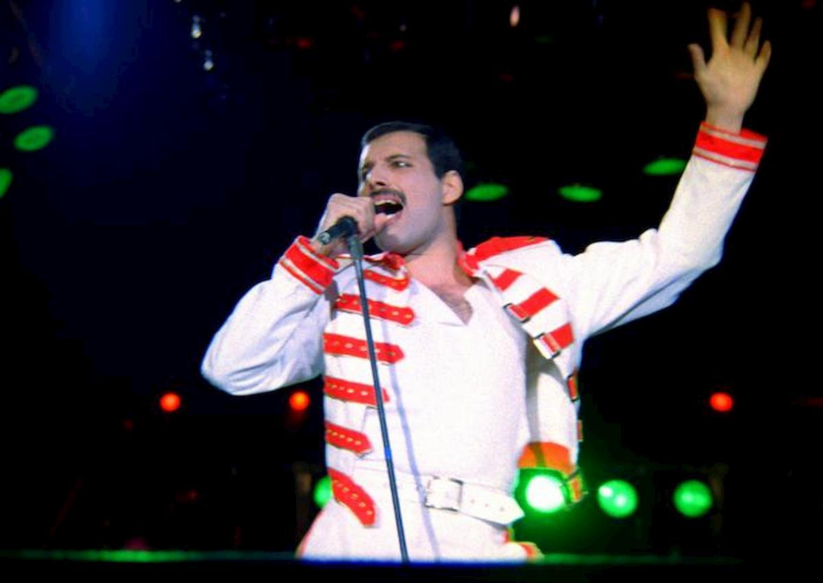 Nella foto Ansa Freddie Mercury