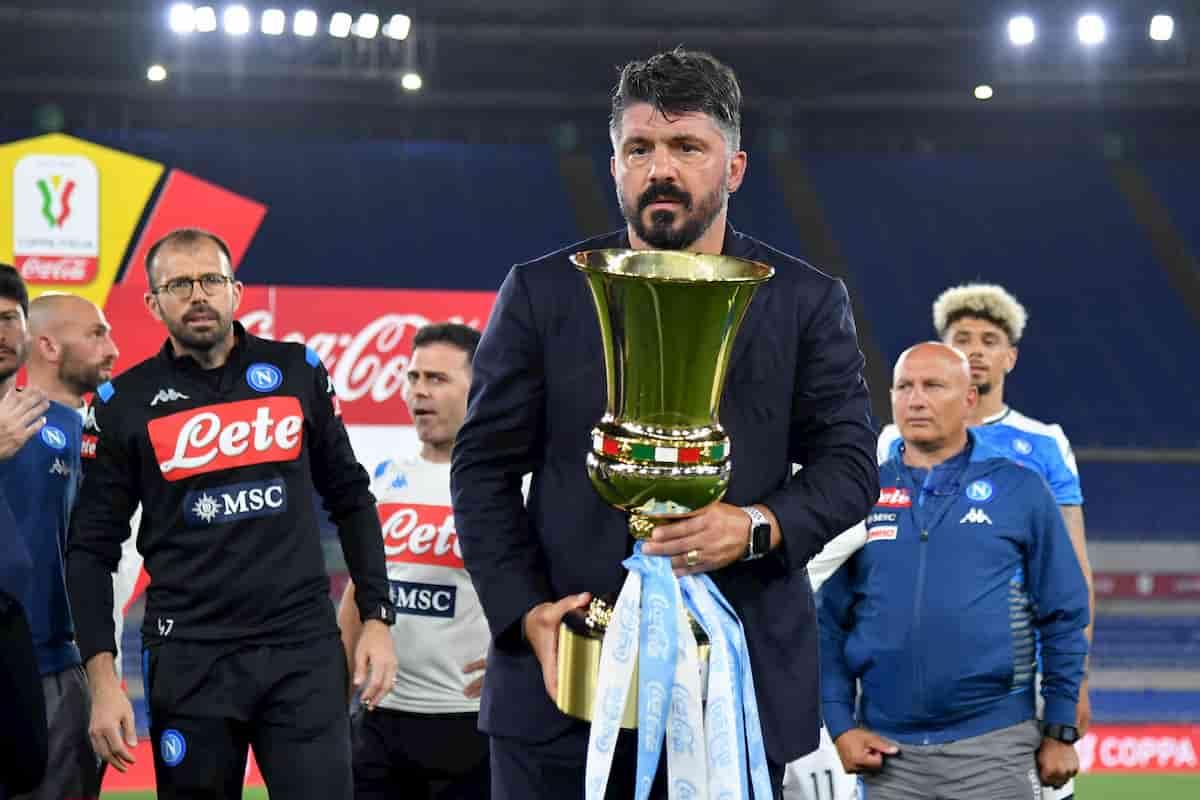"""Napoli, De Laurentiis: """"Ho provato a prendere Allegri prima di Gattuso"""""""