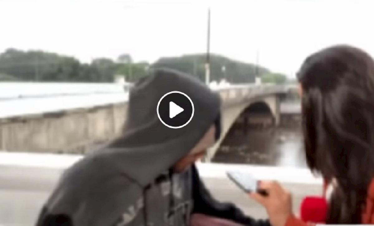 Giornalista brasiliana rapinata in diretta