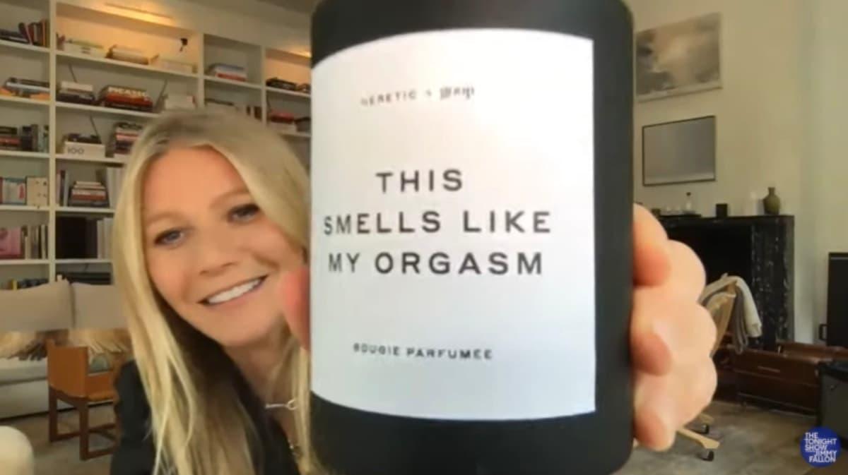 Gwyneth Paltrow candela al profumo del...suo orgasmo