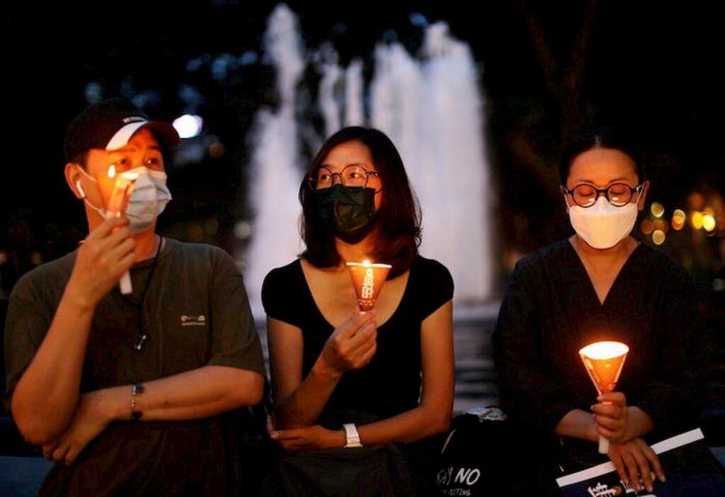 candele ad Hong Kong