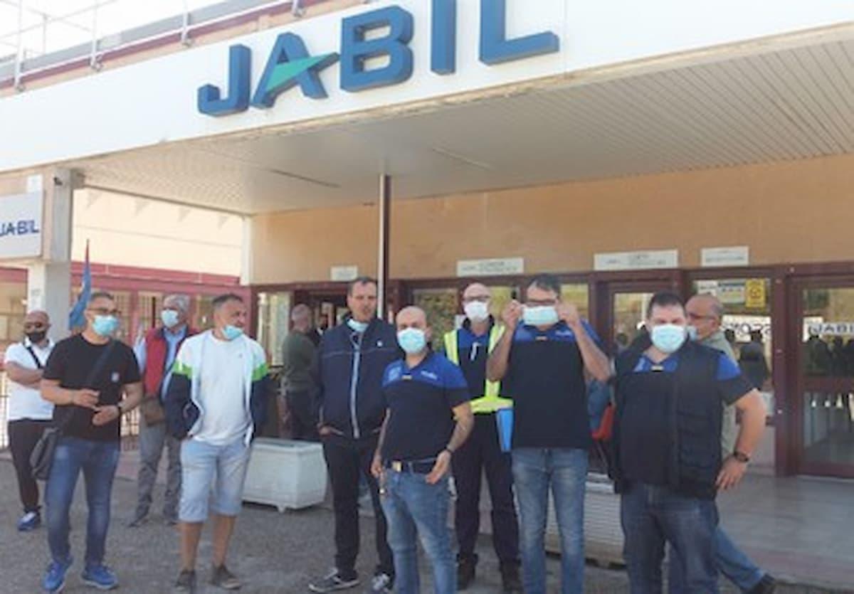 Jabil di Marcianise (Caserta), ritirati i licenziamenti