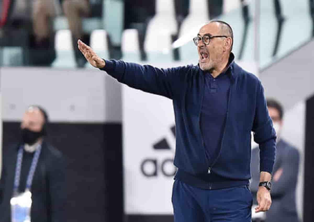 Juventus, Maurizio Sarri in una foto Ansa