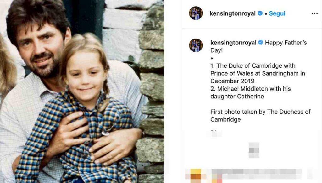 Kate Middleton bambina, la foto