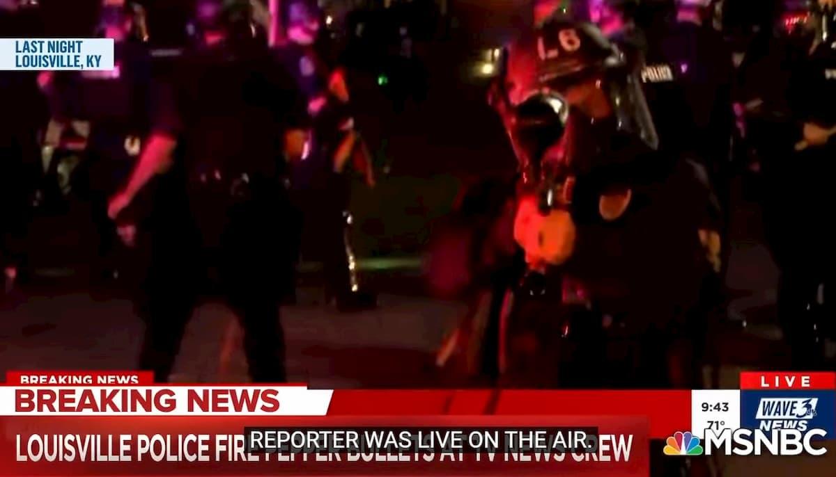 """Louisville, polizia spara contro la giornalista in diretta: """"Mi sparano addosso"""" VIDEO"""