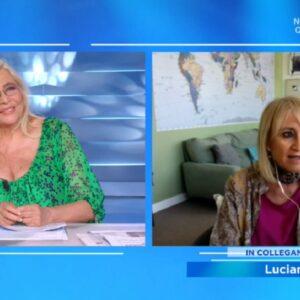 Luciana Littizzetto a Domenica In: Quella volta che bacia Pippo Baudo