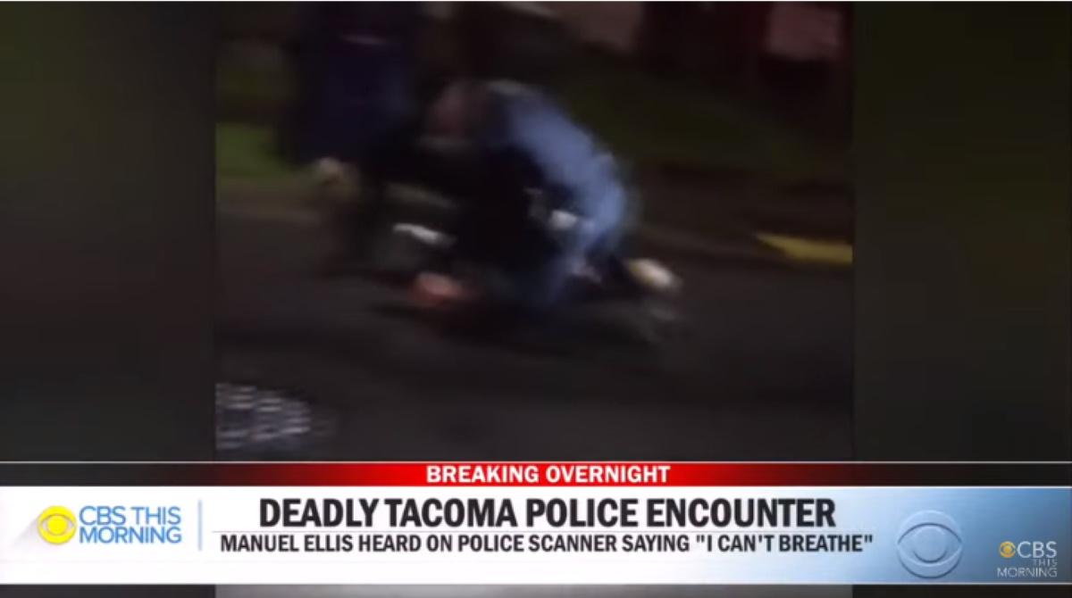 Manuel Ellis ucciso dalla polizia come George Floyd. Diceva: Non respiro