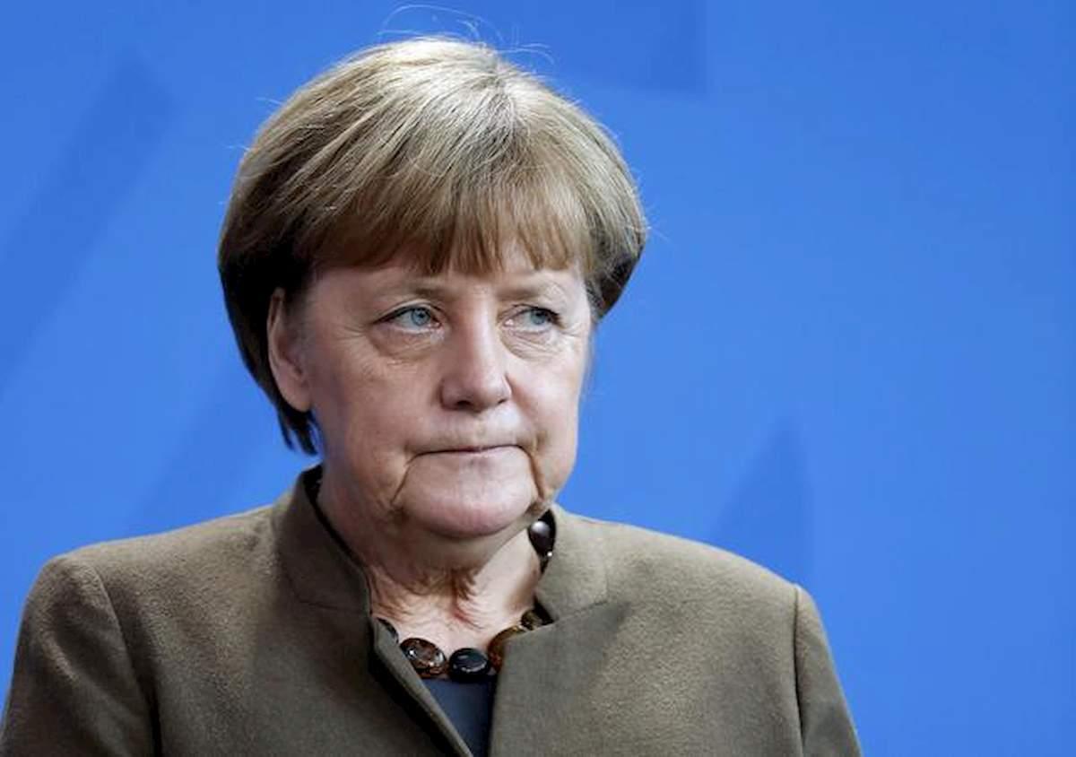 Angela Merkel, foto Ansa