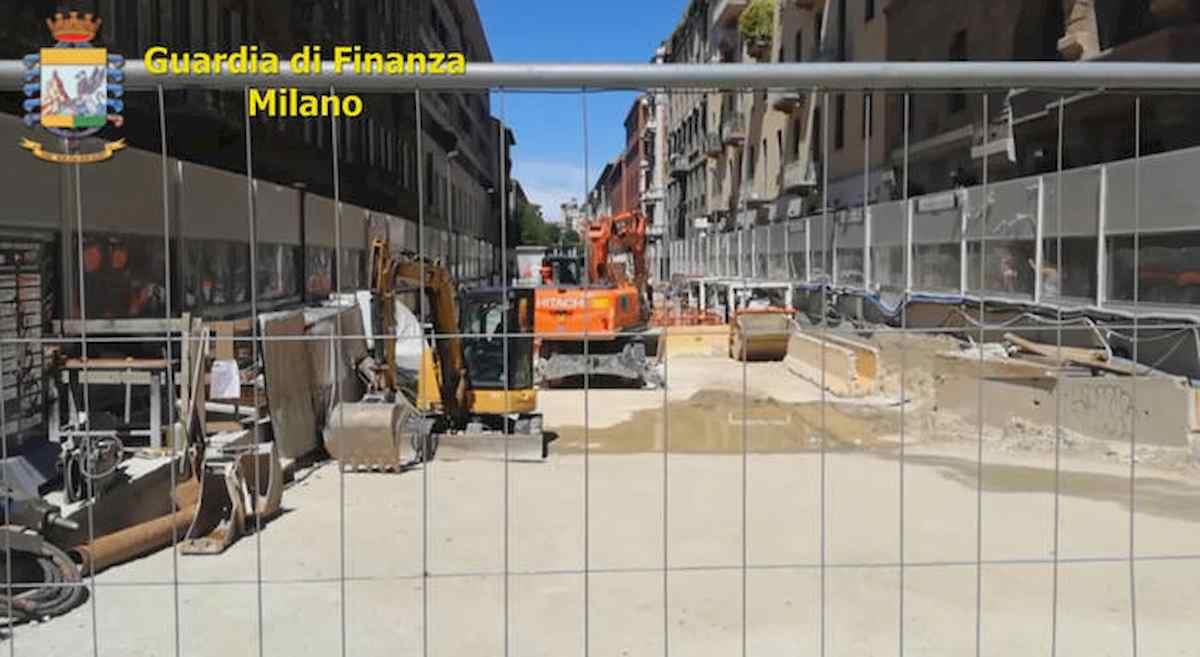 Tangenti nella realizzazione della metro di Milano