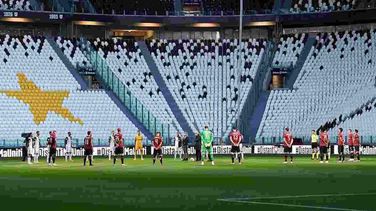 Dal minuto di silenzio alla maglia del Milan, tutte le curiosità della prima partita durante il coronavirus