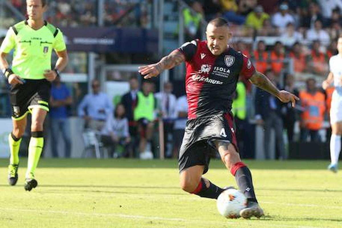 Cagliari-Torino 4-2 Nainggolan Simeone Nandez gol