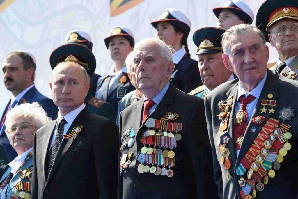 Putin alla parata militare