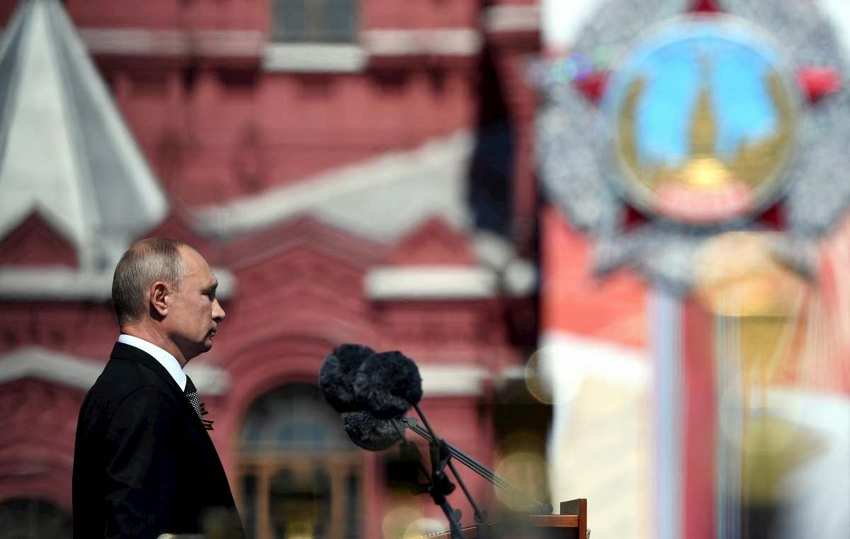Putin ricorda la vittoria sul nazismo