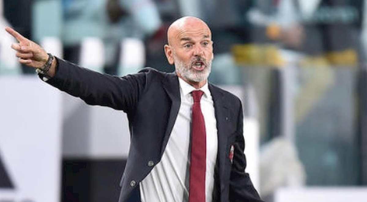 Lecce-Milan risultato gol Pioli nella foto Ansa