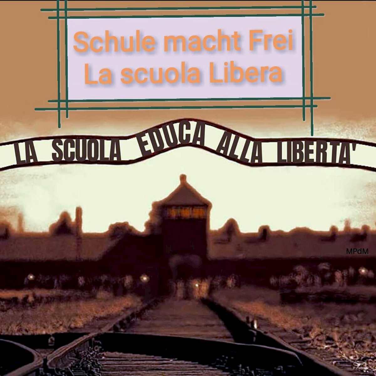 post della Lega su Auschwitz
