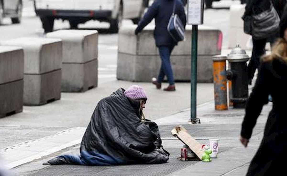 senzatetto ansa