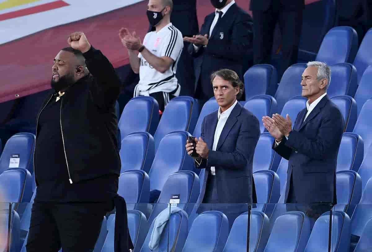 """Sergio Sylvestre: """"Non mi sono dimenticato l'Inno di Mameli, ma quello stadio vuoto..."""""""