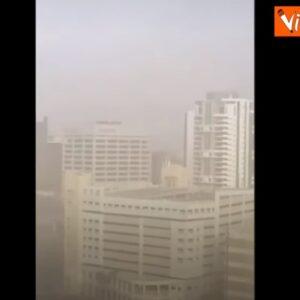 Tempesta di sabbia investe i Caraibi VIDEO