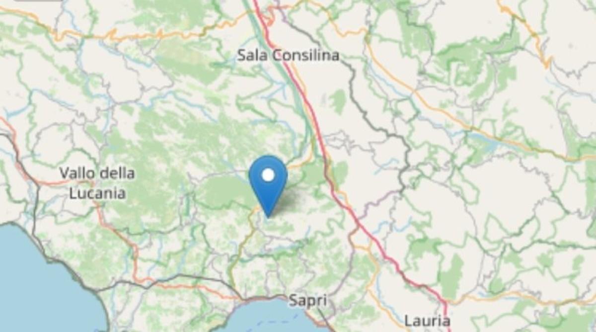 Terremoto Caselle in Pittari, boato e tre scosse nel Golfo di Policastro