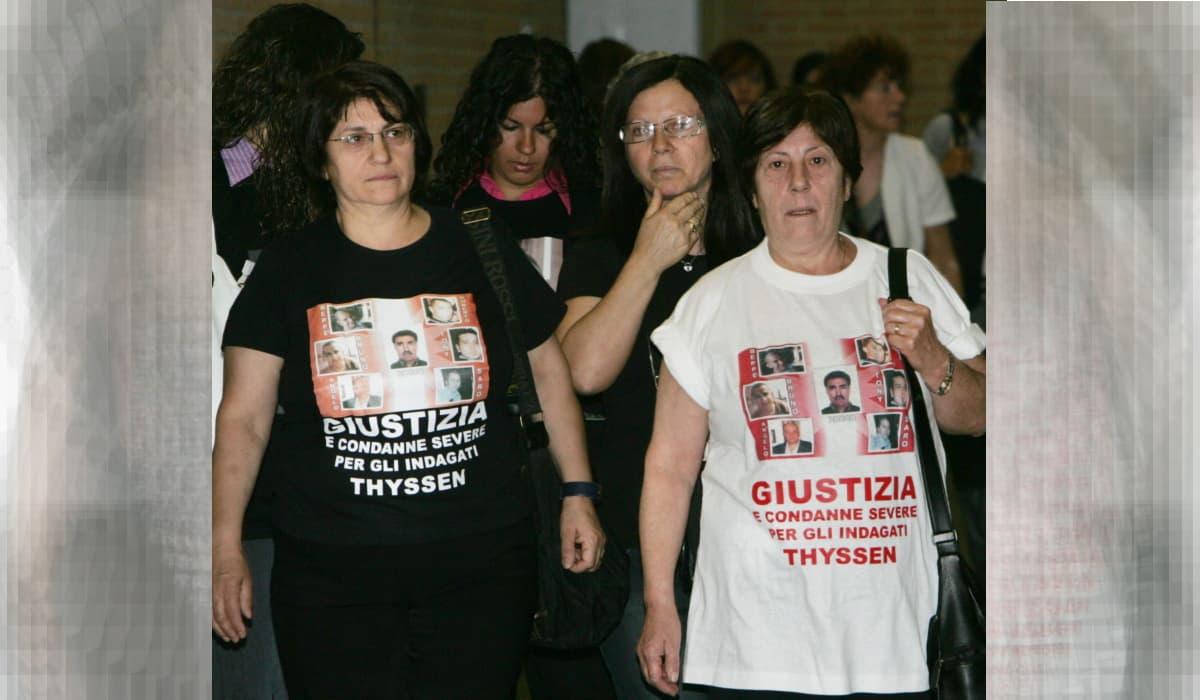 Thyssenkrupp, manager tedeschi in semilibertà. Parenti vittime: vergogna