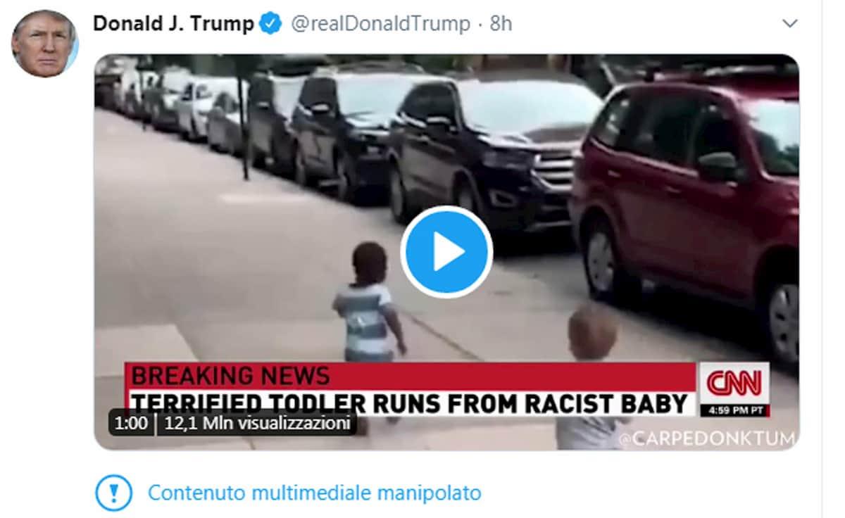 Trump, doppia censura social: Facebook i simboli nazisti, Twitter la manipolazione dei media
