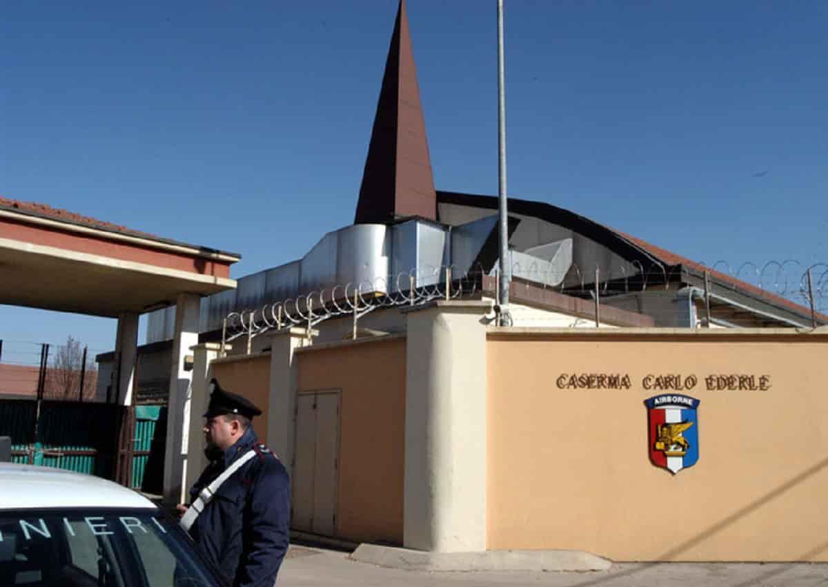 Vicenza, la caserma Usa Ederle