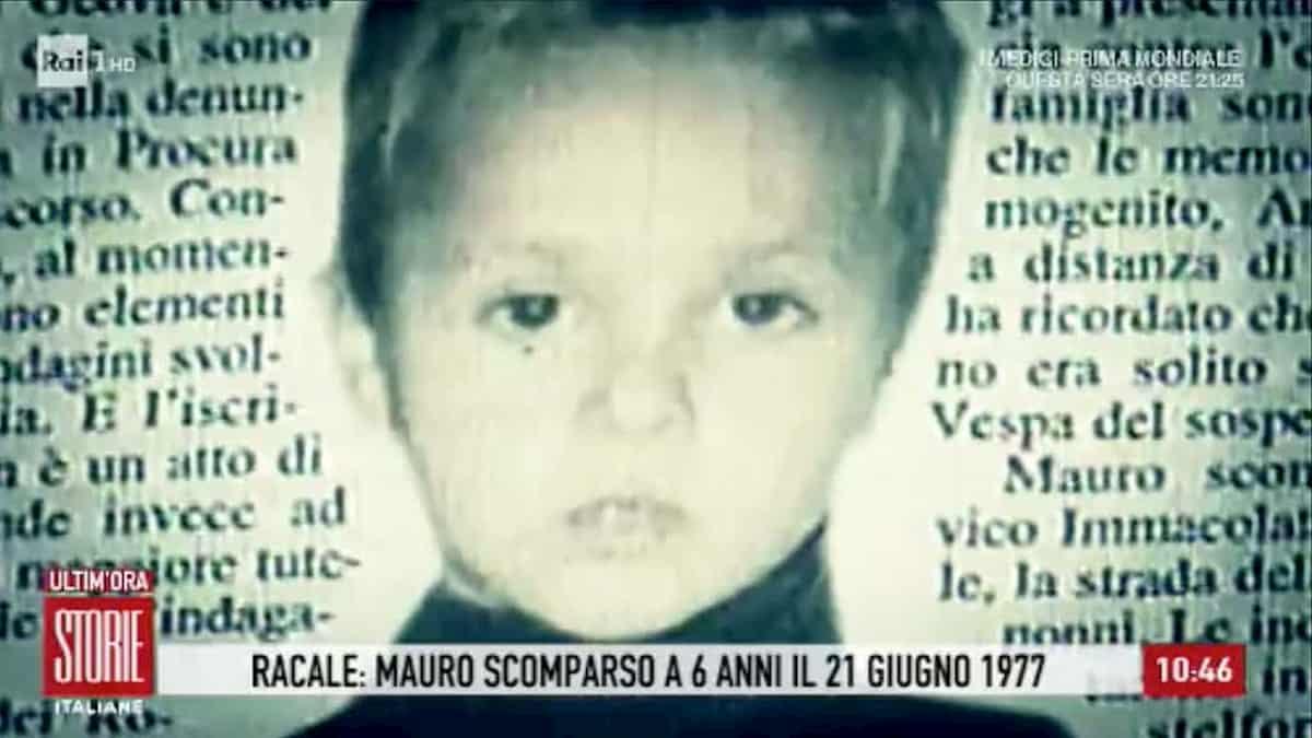 Mauro Romano scomparso a 6 anni nel 1977, identificato il sequestratore