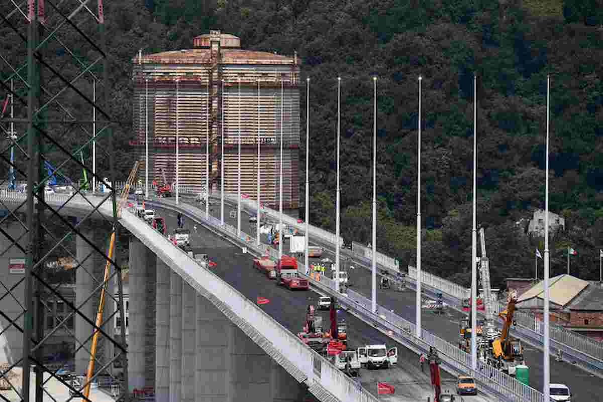 ponte genova, il collaudo