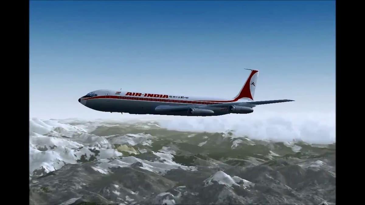 Monte Bianco, disastro aereo del 1966