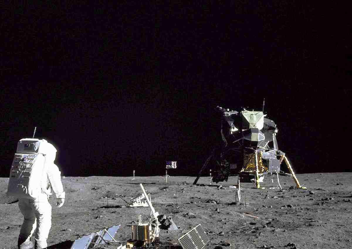 luna lo sbarco il 20 luglio 1969