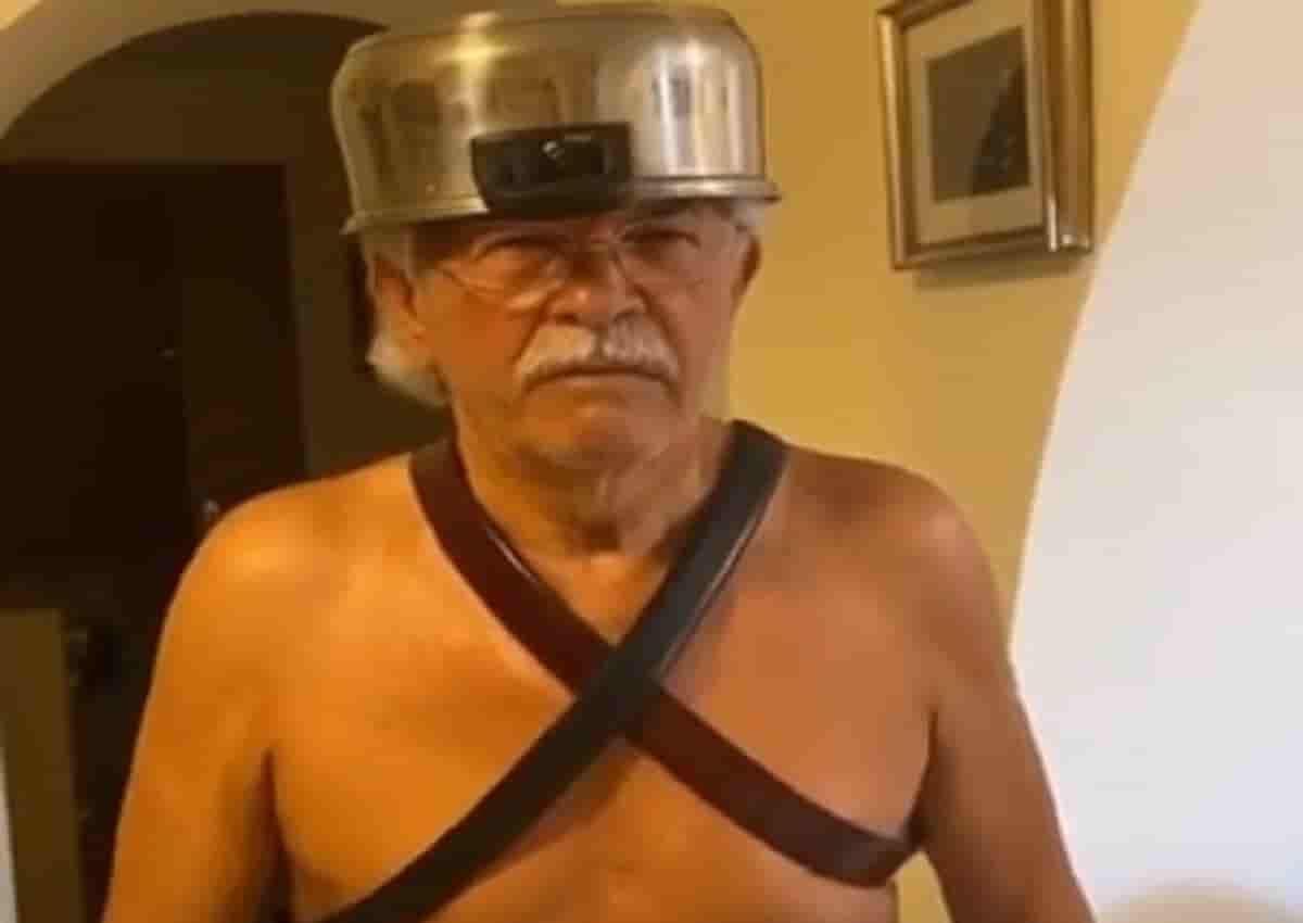 Antonio Razzi versione Il Gladiatore