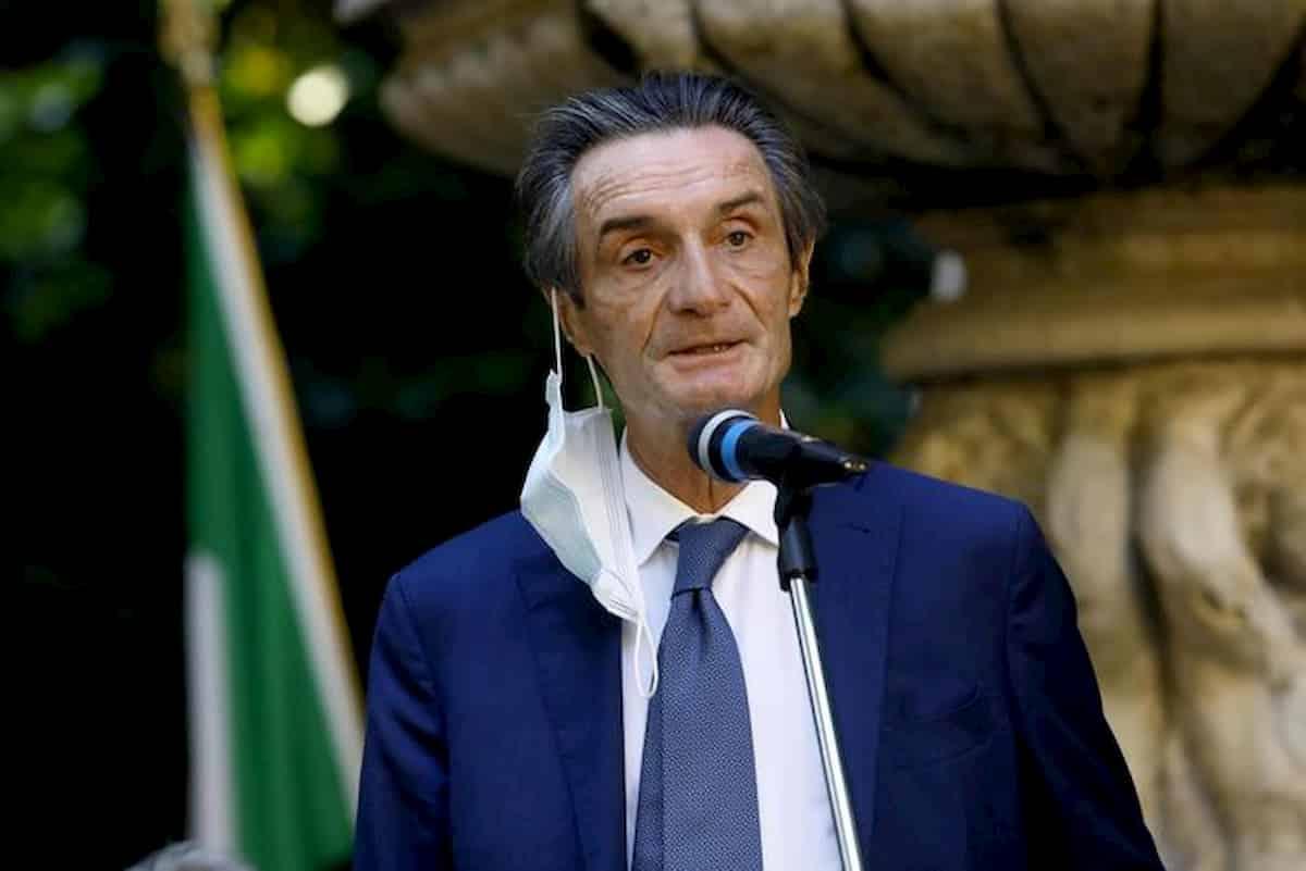 Attilio Fontana acqua in bocca sui 5 milioni di euro all'estero