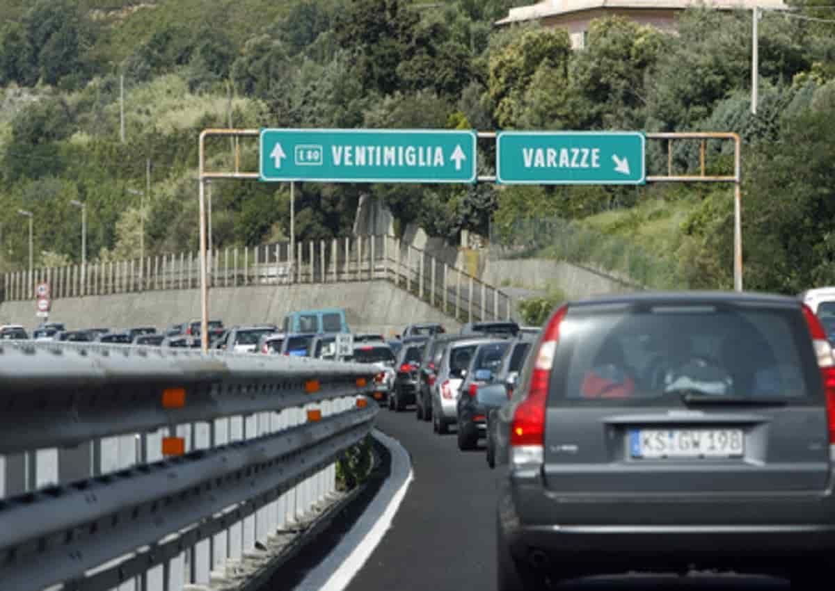 Autostrade Liguria, foto d'archivio Ansa