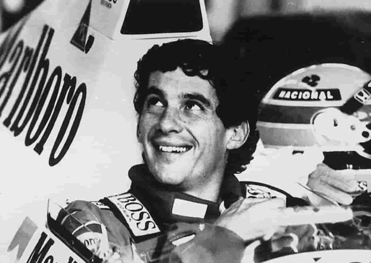 Ayrton Senna, foto Ansa