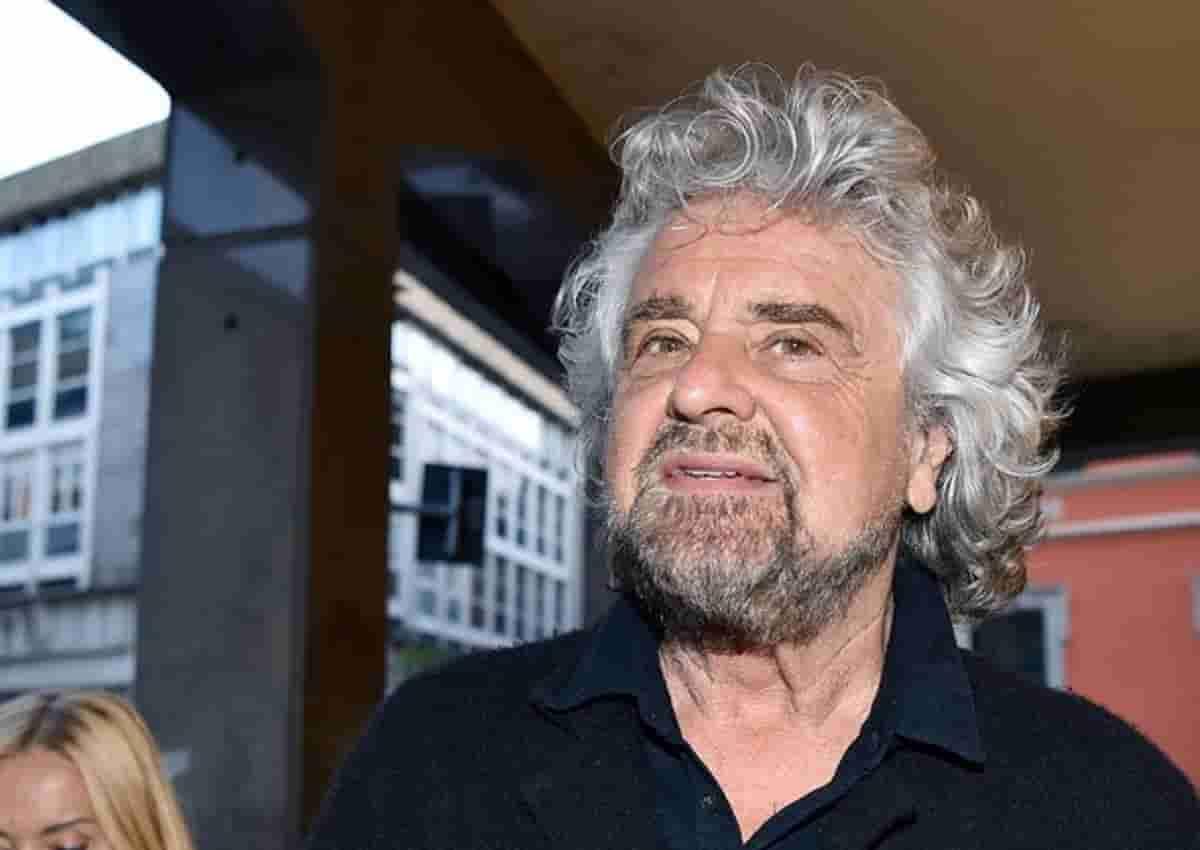 Beppe Grillo, foto Ansa