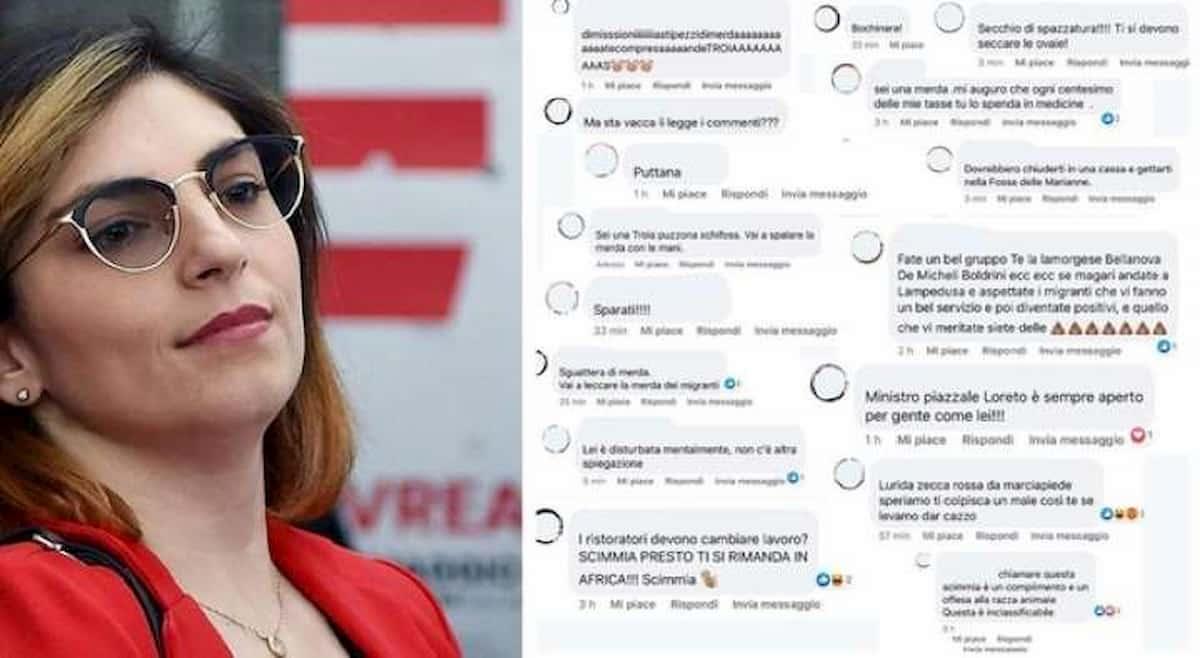 Laura Castelli, insulti e minacce social per le frasi sui ristoratori