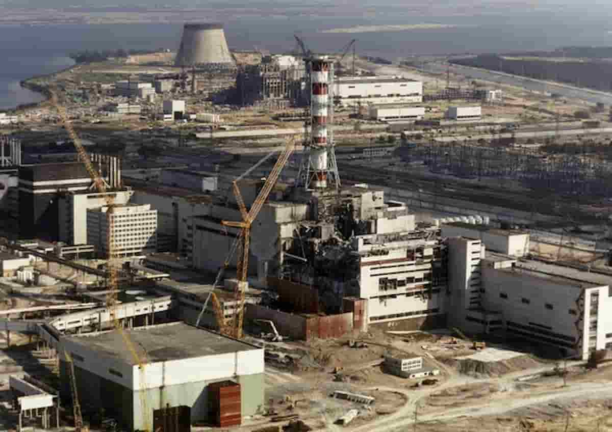 Chernobyl fungo reattore