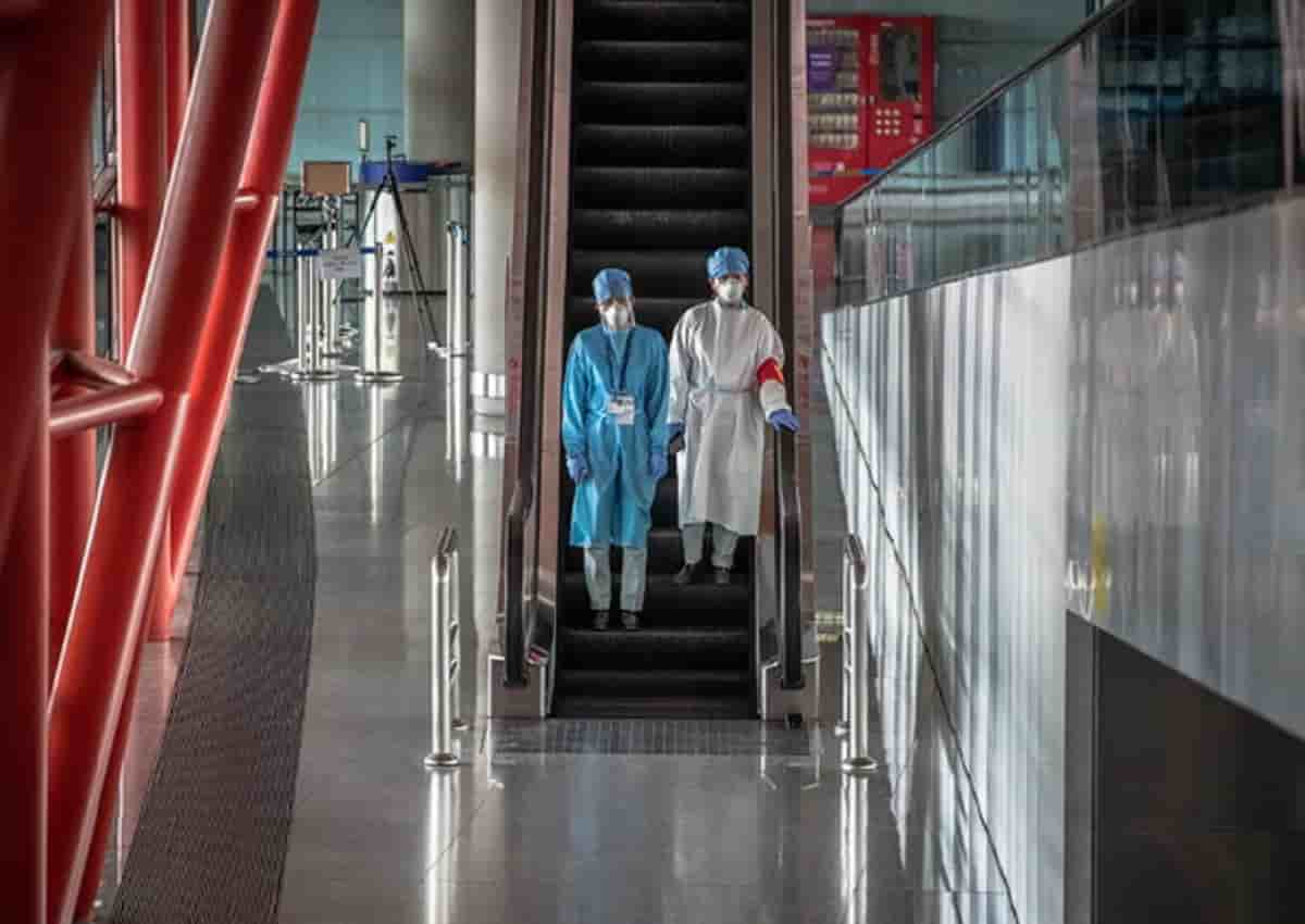 Cina, foto d'archivio Ansa di un ospedale